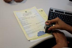 Mudança em registro civil