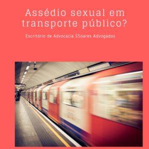 assédio sexual em transporte público